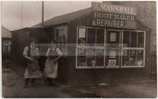 More details for a marshall shopfront - bootmaker & repairer/ cobbler - unlocated/mystery/unknown