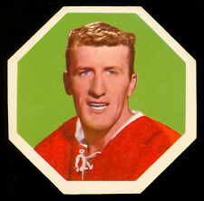 1961-62 YORK PEANUT BUTTER YELLOW BACKS #17 CLAUDE PROVOST NM Montreal Canadiens