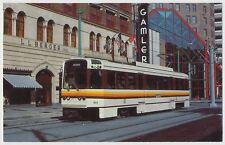 NFTA Metro Rail Car, Main Street, L.L. Berger Department Store, Buffalo, NY
