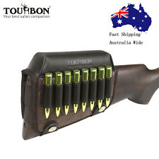Tourbon Shooting Rifle Cheek Riser Cartridges Holder Buttstock High Quality AU