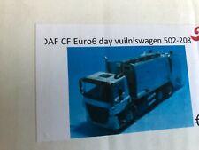 TEKNO 1/50  DAF  CF Euro 6 camion a ordures, garbage truck, vuilniswagen