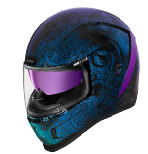*FREE SHIPPING* ICON  Airform™ Helmet - Chantilly Opal Blue