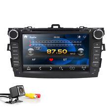 Car Dash DVD Player GPS Navigation Radio Stereo BT for Toyota Corolla 2007-2013