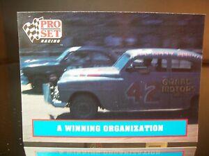 Lee Petty Pro Set Racing 1991 Card #6 1951 Plymouth A Winning Organization