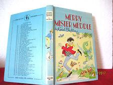 Enid Blyton MERRY MISTER MEDDLE 1971 hardcover  Rewards #28 Rene Cloke