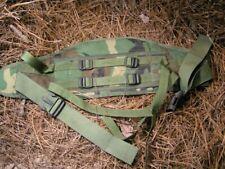 Usgi Molle 2 Woodland Waist Belt ! Free Helmet Cover and Canteen Cover !
