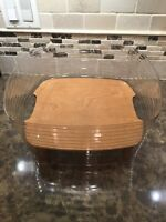 Longaberger 2003 Hostess Two-Pie Basket Protector & Riser Only (NEW)