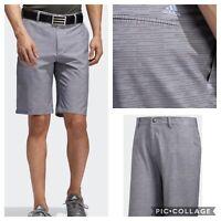 New Adidas Ultimate 365 Dash Mens Golf Shorts- Gray 3 -
