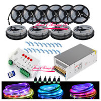 50M 5050 RGB Dream Color 6803 LED Strip + T1000S Controll +12V 40A 500W Power