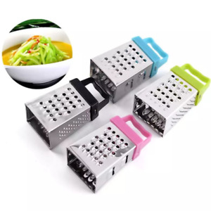 Mini Four Sided Stainless Steel Peeler Cutter Grater Kitchen Tools Random Color