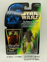 Kenner Star Wars Hologram Power Of The Force Weequay Skiff Guard Action Figure