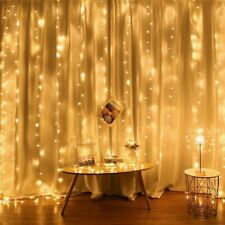 Curtain Window Decor Wedding Fairy String  Christmas Light LED Garland For Home