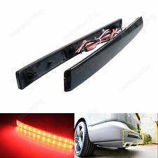 VW Transporter T5 Multivan Black Rear Bumper Reflector LED Tail Brake Light 12+