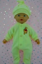 "Play n Wear Doll Clothes For 13"" My Little Baby Born LEMON STRETCH AND GROW~HAT"