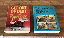 Esca di debito e PROSPERITA 'Peter Cutler & guadagnare soldi A Casa (che i libri)