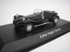 LOTUS SUPER SEVEN 1968 NERO 1/43 maxichamps 940113631 NUOVO