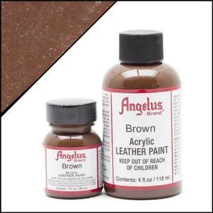 Angelus Braun/Brown (014) Lederfarbe 118ml (105,93€/1L) Leder Sofa Schuhfarbe