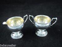 Vintage La Pierre Sterling Silver Mini Small Creamer Sugar Bowl No. 16