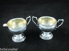 Vintage La Pierre Sterling Silver Mini Small Creamer Sugar Bowl No. 16