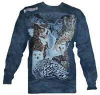 The Mountain Find 11 Owls Hidden Image Snowy Great Horned Long Sleeve Shirt.