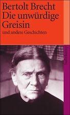 Die unwürdige Greisin: Und andere Geschichten (suhrkamp ...   Buch   Zustand gut