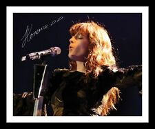 FLORENCE AND THE MACHINE AUTOGRAPHED SIGNED & FRAMED PP POSTER PHOTO 1