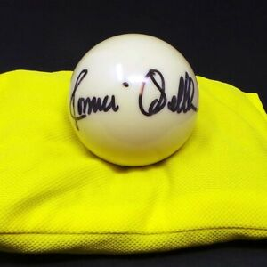 Ronnie O'SULLIVAN Signed Autograph on White Snooker Ball 3/4 Size AFTAL RD COA