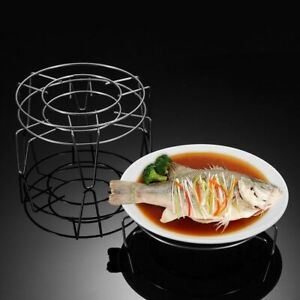 Stainless Steel Pot Steaming Rack Round Durable Multi-Purpose Steam Trays