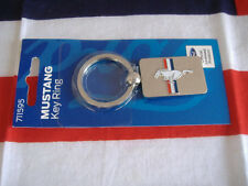 US Auto Schlüsselanhänger Key Chain FORD MUSTANG Pferd Emblem Logo silber USA I