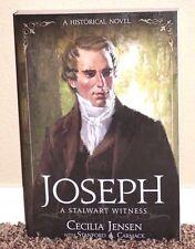 JOSEPH SMITH A STALWART WITNESS A HISTORICAL NOVEL by Cecilia Jensen LDS MORMON