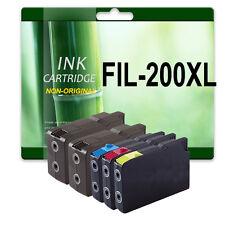 5 Ink Cartridges For Lexmark OfficeEdge PRO4000C PRO4000 PRO5500 PRO5500T
