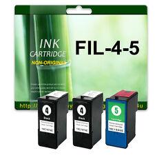 3 Ink Cartridges for Lexmark NO.4 NO.5 X6690 Z2390 X3690 Z2490 X4690 X2690