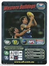 2002 Teamcoach Silver (154) Nathan BROWN Western Bulldogs