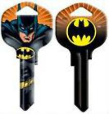 BATMAN House Key Blank SCHLAGE SC1 DC COMICS ACTION EMBLEM