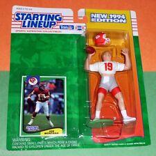 1994 JOE MONTANA Kansas City Chiefs - low s/h - Starting Lineup KC hof