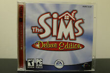 Sims: Deluxe Edition  (PC, 2002) *Tested