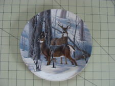 Dominion China Ltd White Tail Deer Plate