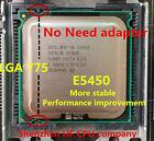 INTEL XEON E5450 works on LGA775 mainboard no need adapter equal to q9650 cpu