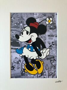 Disney - Classic Minnie Mouse - Hand Drawn & Hand Painted Cel