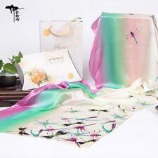 Bunte Damen-Schals & -Tücher aus 100% Seide