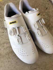 Mavic Cosmic Pro ll Cycling Shoe 2020 Model White Size9