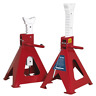 Sealey Axle Stands (Pair) 10tonne Capacity per Stand Auto Rise Ratchet