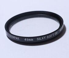 Lens Filter: Sunpak Silky Soft (B) for Portraiture JAPAN