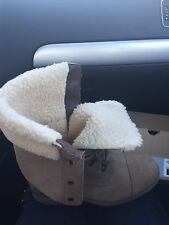 UGG GRADIN TAUPE BEIGE SUEDE 6M NEW