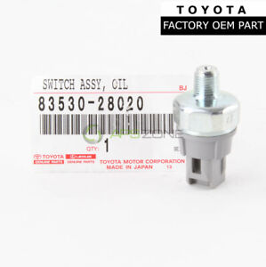 GENUINE TOYOTA CAMRY SCION LEXUS IS F OIL PRESSURE SENDING UNIT OEM 83530-28020
