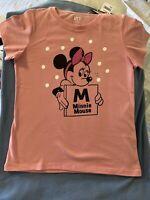 Uniqlo x Disney Girls Large(9-10) Short Sleeve T-Shirt  *minnie mouse*