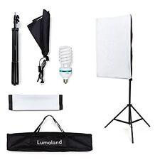 Fotostudio Licht Set Softbox Stativ Reflektor Diffusor Foto Lampe Spot Strahler