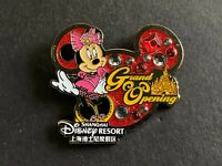 SDR Shanghai Grand Opening - Minnie Mouse SOLD OUT Disney Pin 121122
