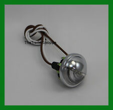 """Universal Mini Snap-In License Plate Lamp and Utility light 4 LED 1-1/2"""" Round"""