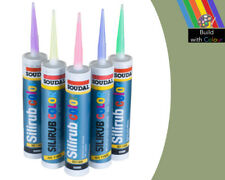 Pale Green Colour Silicone Sealant Soudal 310ml RAL 6021 Indoor & Outdoor use